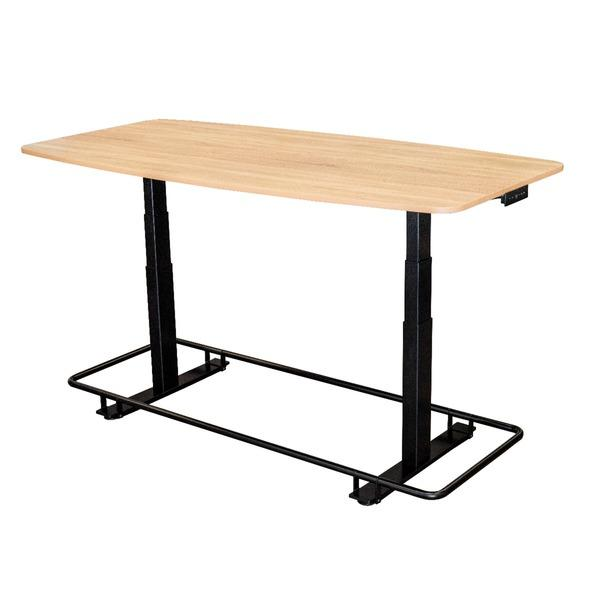 "Luxor 72"" Electric Adjustable Conference Table with footrest from Active Goods Canada"