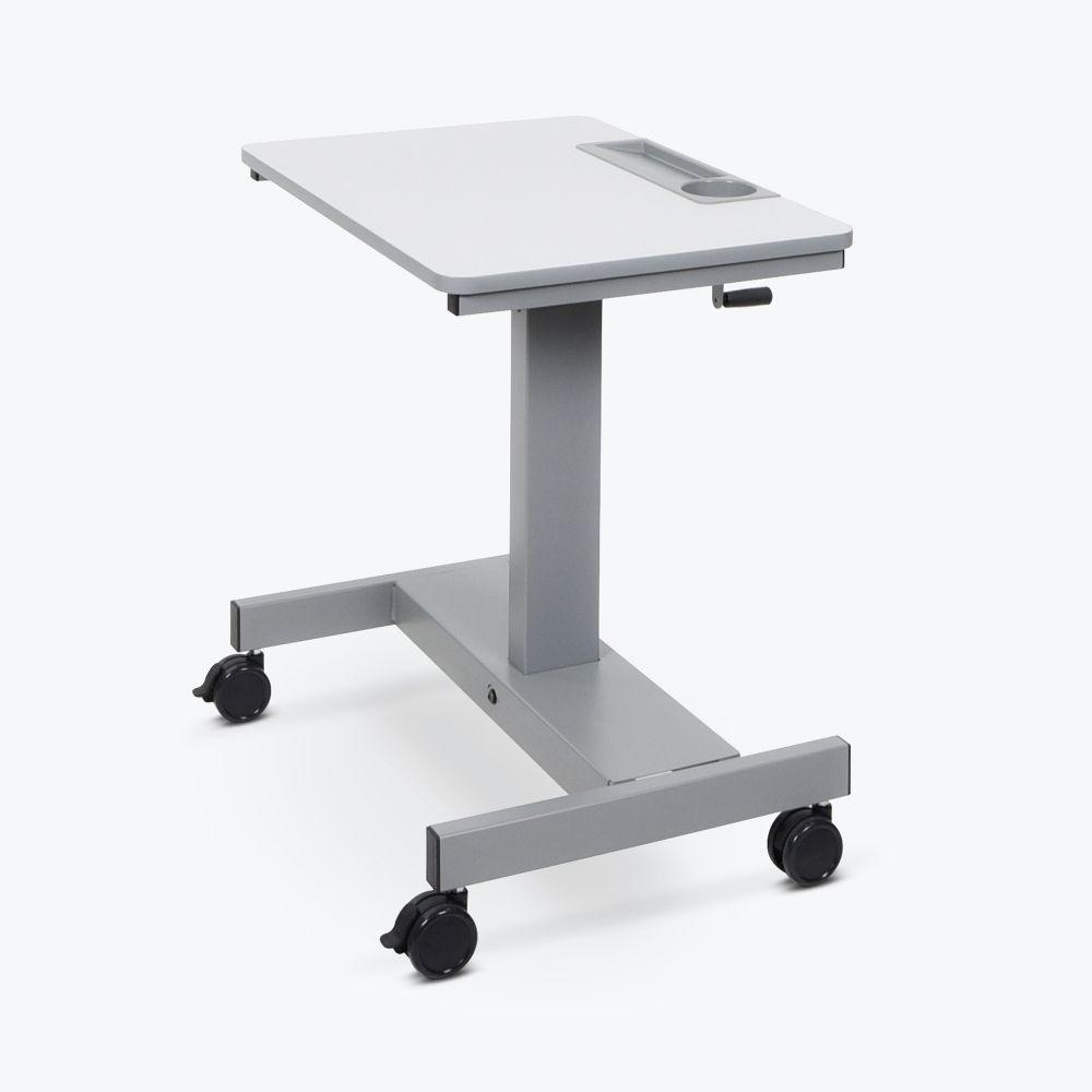 Luxor Height-Adjustable Crank mobile Student Desk from Active Goods Canada