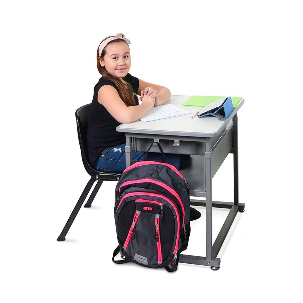 Luxor Manual Adjustable Student Desk from Active Goods Canada- Sitting