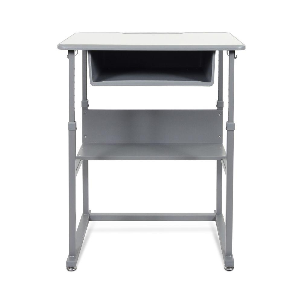 Luxor Manual Height-adjustable classroom sit-stand desk