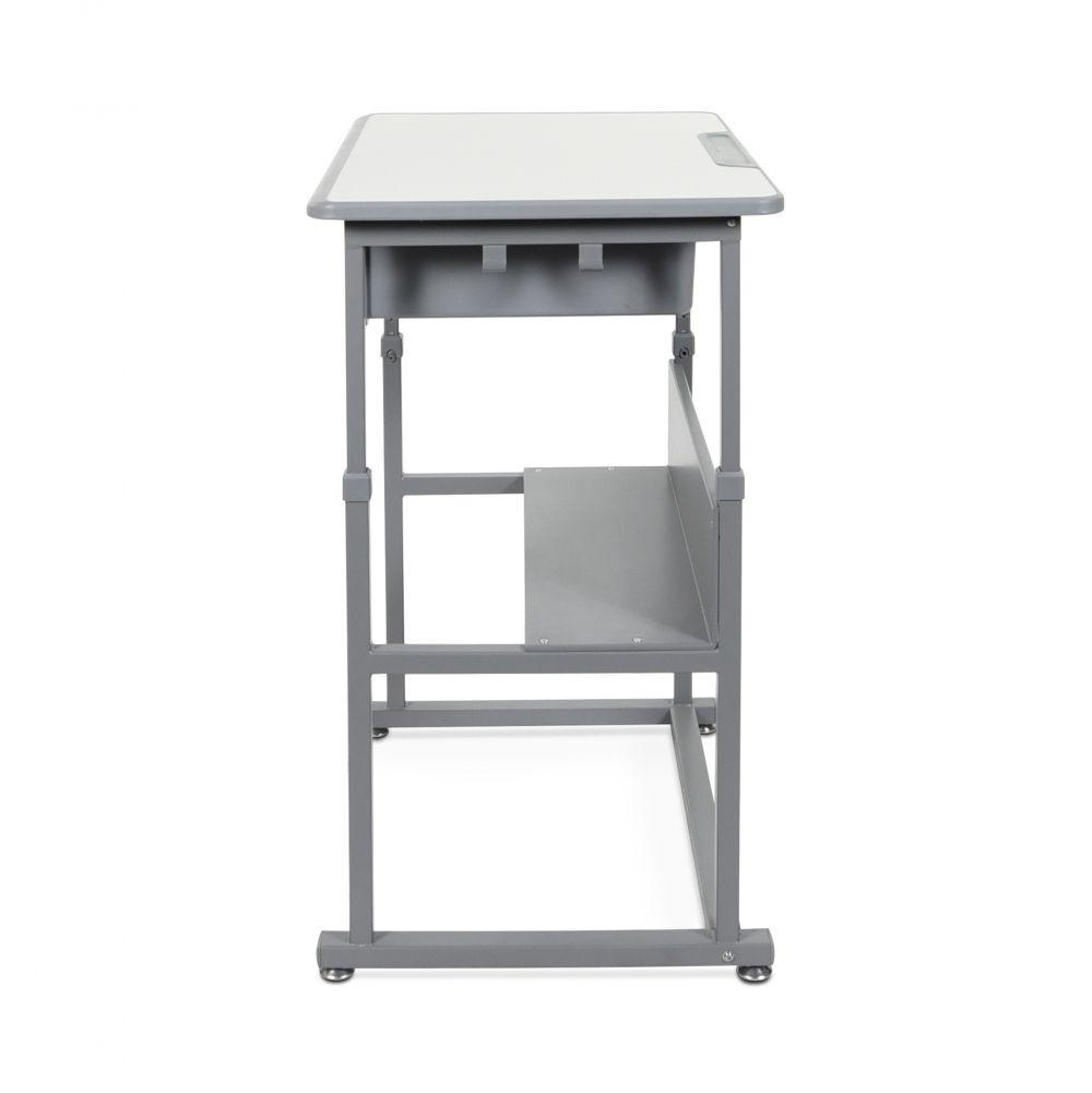 Luxor Manual Height-adjustable student sit-stand desk Fitneff Canada