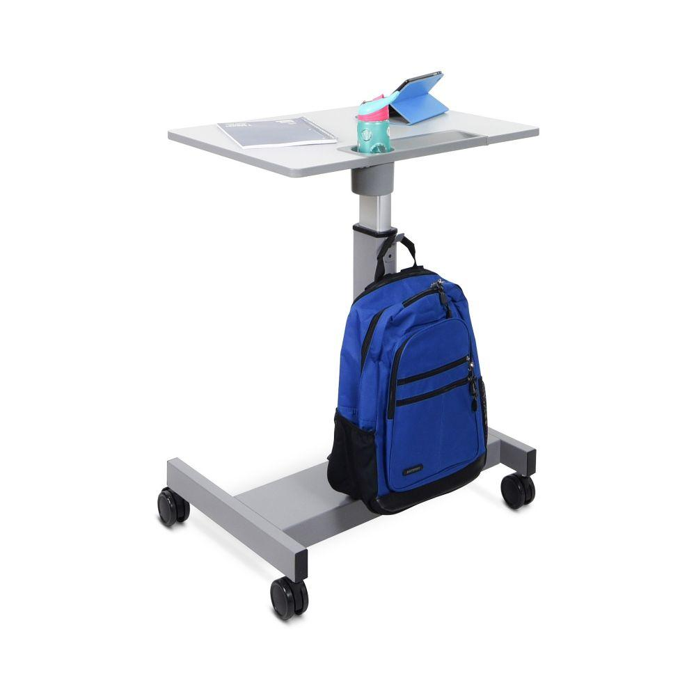 Luxor Pneumatic Adjustable Student Desk from Fitneff - Front