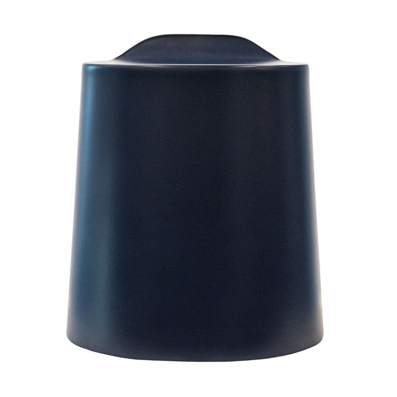Navy Blue Luxor TailFin Plastic Stackable Stools from Fitneff Canada