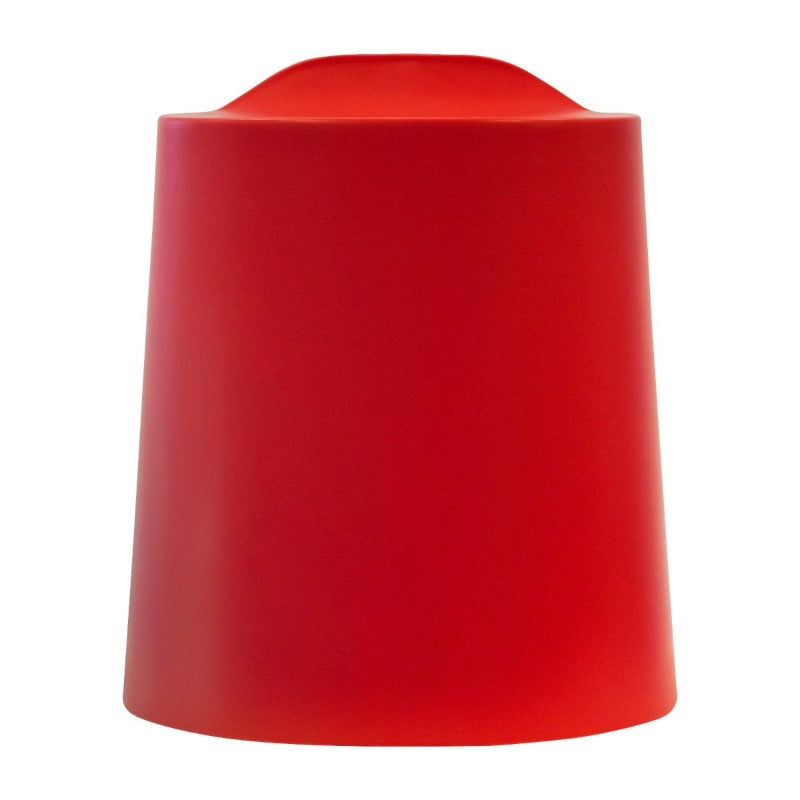 Raspberry Red Luxor TailFin Plastic Stackable Stools from Active Goods Canada