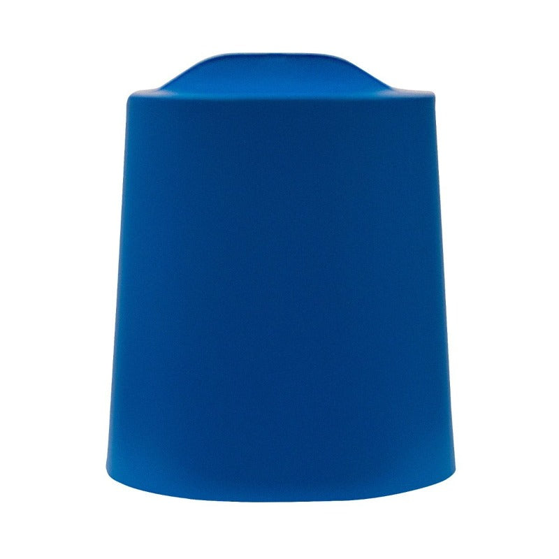 Cobalt Blue Luxor TailFin Plastic Stackable Stools from Fitneff Canada