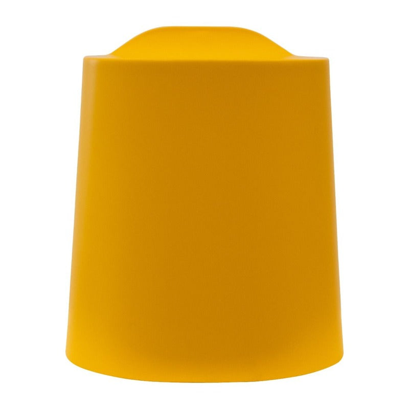 Yellow Luxor TailFin Plastic Stackable Stools from Active Goods Canada