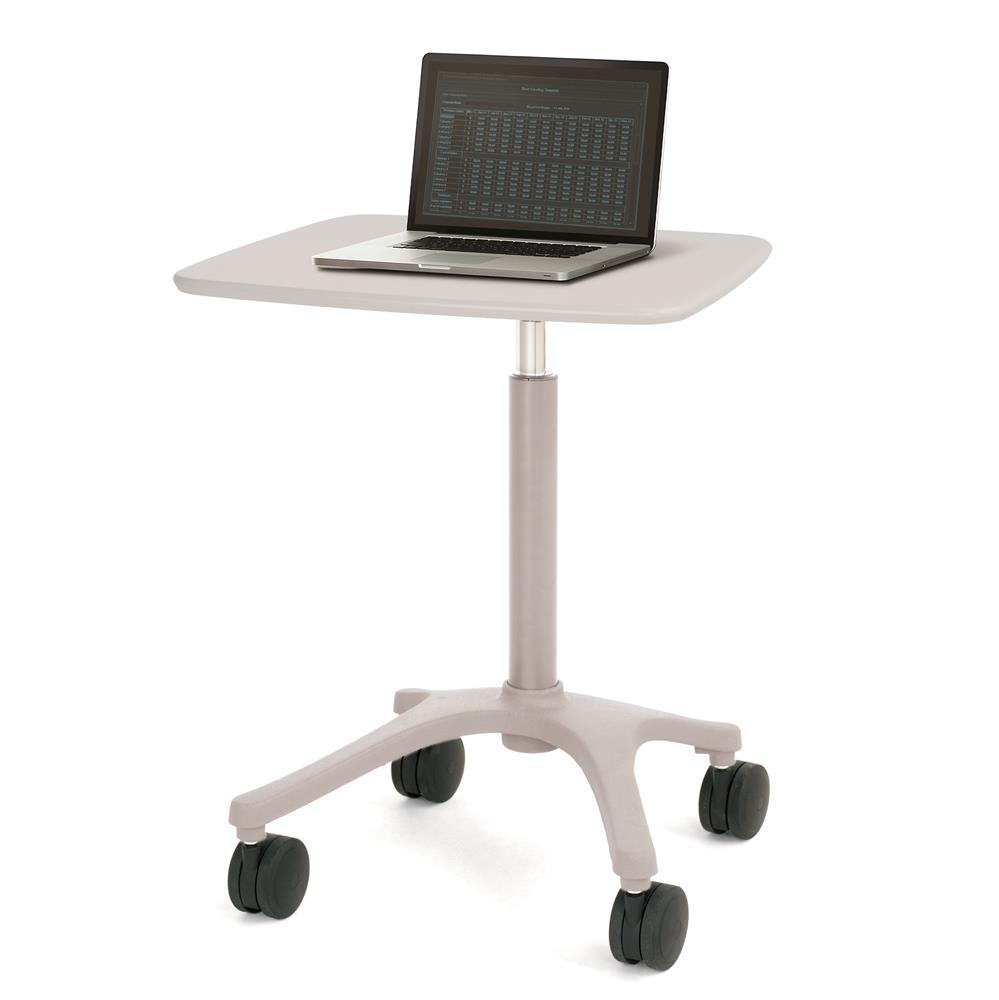 Ergotron Zido, Adjustable-Height Cart, 25 inch, Light Duty