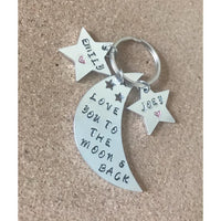 Love you to the moon keyring - NotInTheMalls