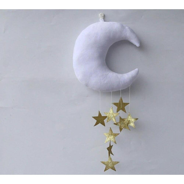 Grey Baby Moon Cushion or mobile - NotInTheMalls