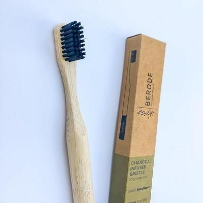 Charcoal Infused Bristle Bamboo Toothbrush - NotInTheMalls