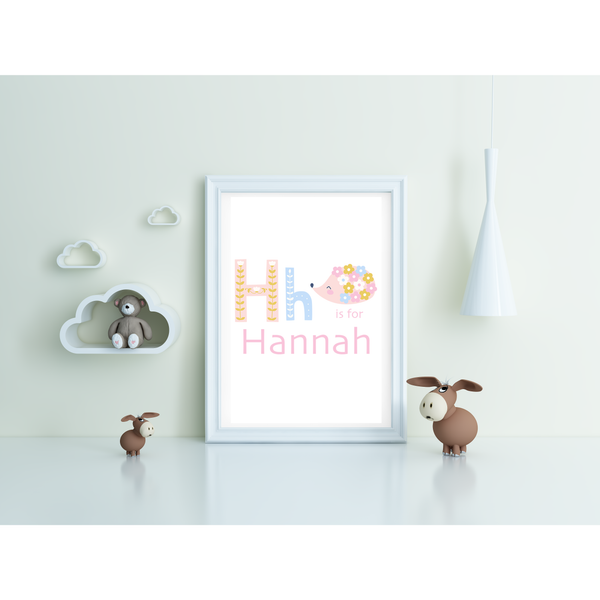 Personalised Children's Name Framed Print - NotInTheMalls