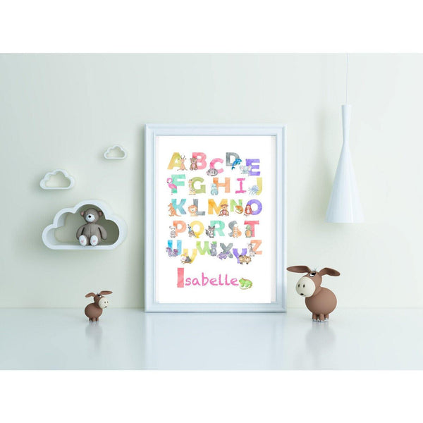 Personalised Children's Name prints - NotInTheMalls
