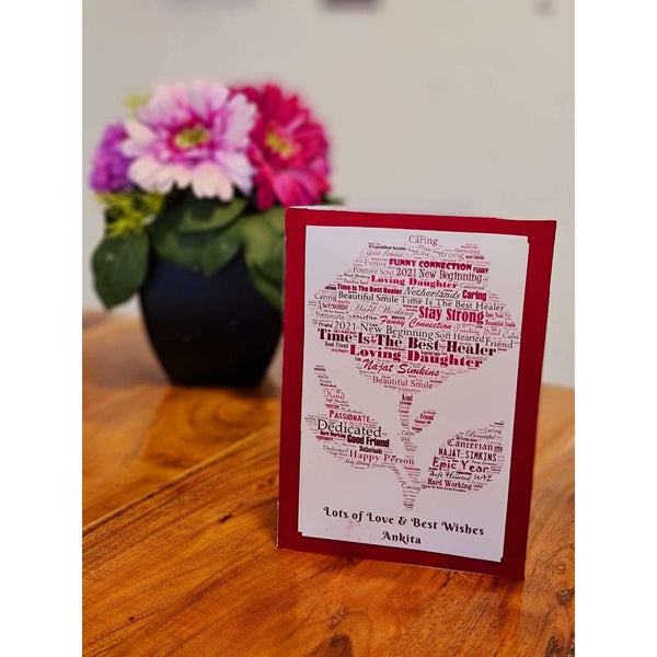 Personalised Wordle Card - NotInTheMalls