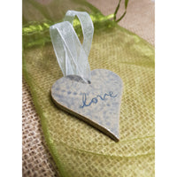 Love Heart Ceramic Decoration - NotInTheMalls