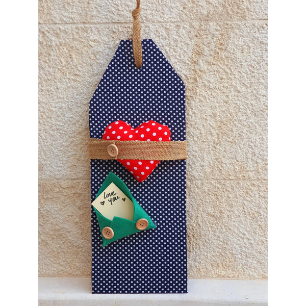 Handmade Wooden Door Tags with Personalized Message - NotInTheMalls