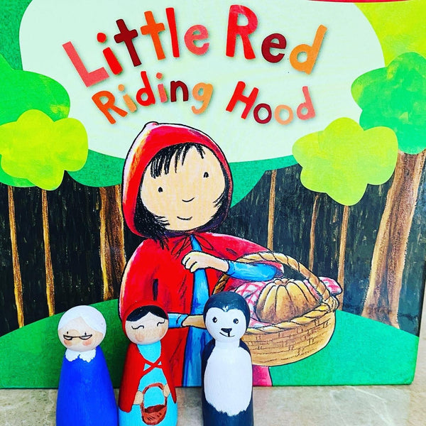 Children's Book Themed Peg Dolls - NotInTheMalls