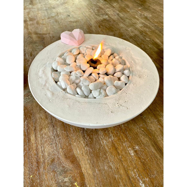 Valentines Table Top Fire Pit