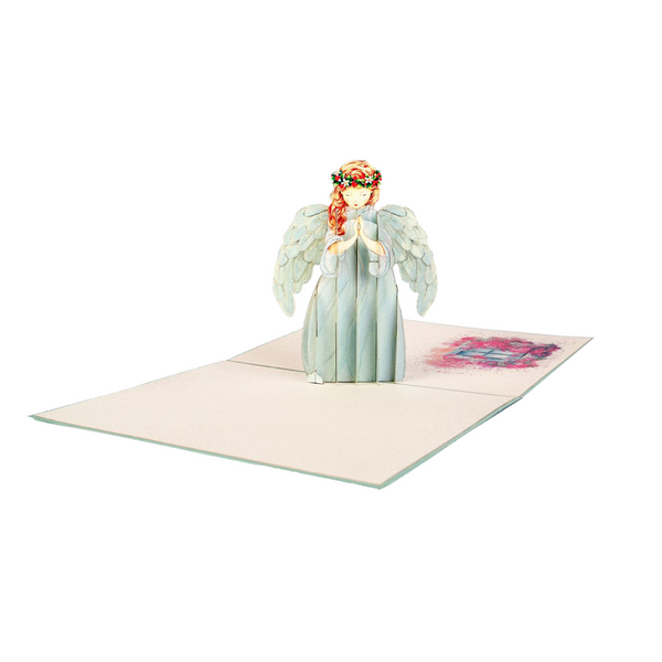 Angel Pop Up Card - NotInTheMalls