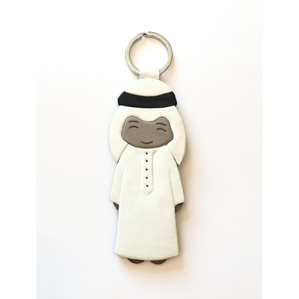 Arabic Boy Leather Keychain - NotInTheMalls