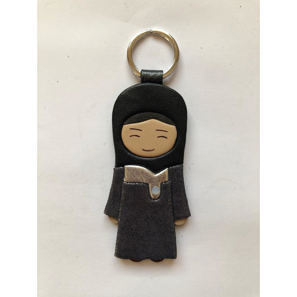 Arabic Girl Keychain - NotInTheMalls