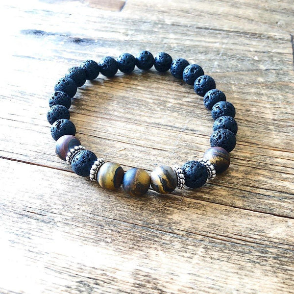 Tiger Eye Bracelet For Men - NotInTheMalls