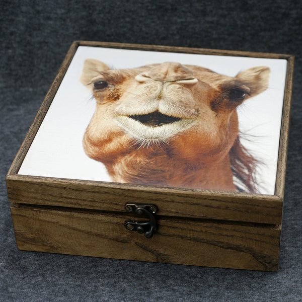 """Camel Pout"" Handmade Ash Wood Box - NotInTheMalls"