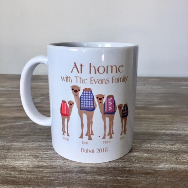 Camel Family Mugs - NotInTheMalls