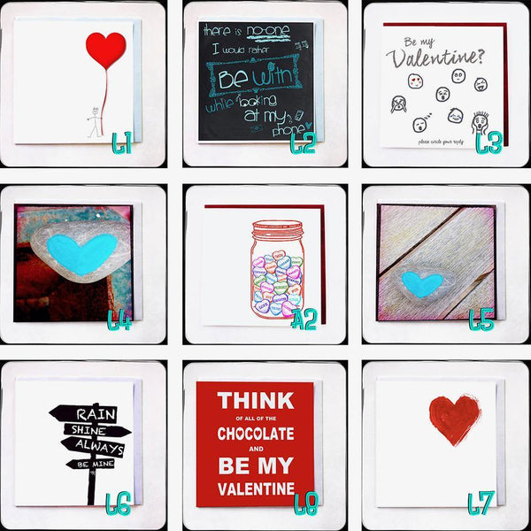Handmade Valentines Cards By Rare Find - NotInTheMalls