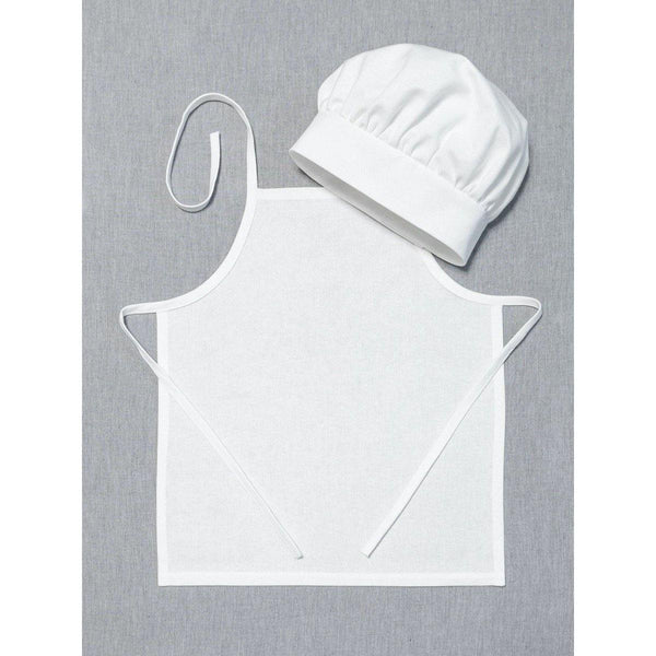 Childs Plain Apron and (optional) Chef's hat - NotInTheMalls