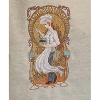 Embroidered Adult Cotton Apron - NotInTheMalls
