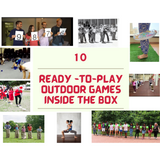 "Say ""YES"" To Outdoor Adventures Ready-To-Play Game Box"