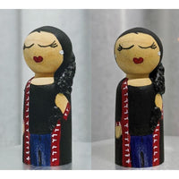 Individual Wooden Peg dolls - NotInTheMalls