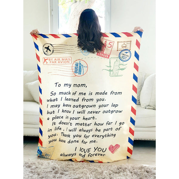 Letter Blanket for Mothers