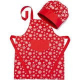 Children's Festive Apron and Hat - NotInTheMalls