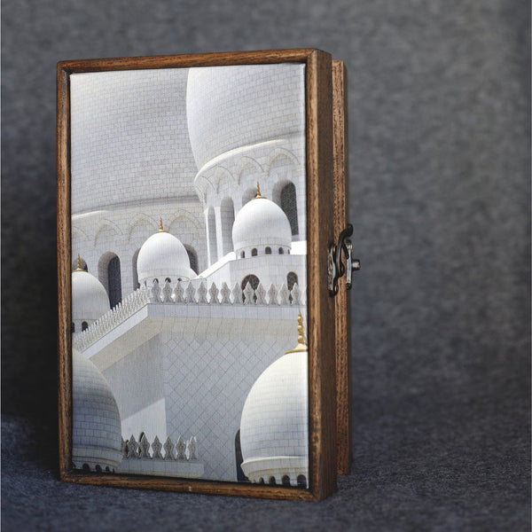 """Grand Mosque"" Handmade Ash Wood Box - NotInTheMalls"