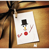 Pack of 5 Handmade Christmas Gift Tags - NotInTheMalls