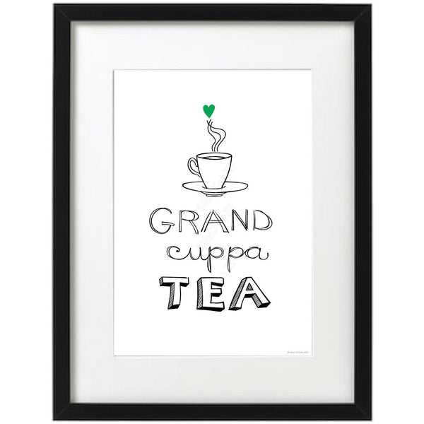 Grand Cuppa Tea Print - NotInTheMalls