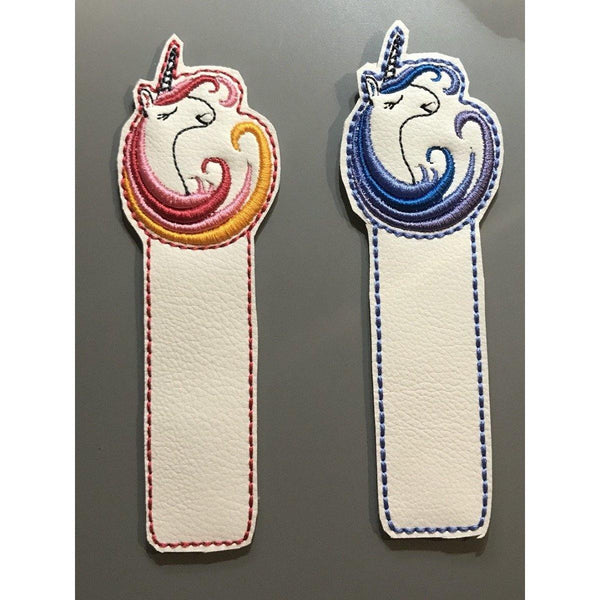 Unicorn Leather Bookmark - NotInTheMalls