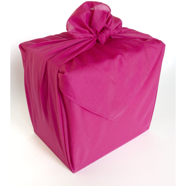 Hot Pink Furoshiki Fabric Gift Wrap - NotInTheMalls