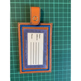 Leatherette Luggage Tag - NotInTheMalls