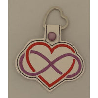 Love Leather Keyring - NotInTheMalls