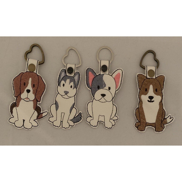 Dog Leather Keyring - NotInTheMalls