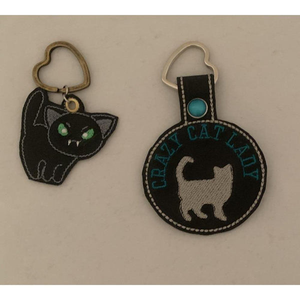 Cat Leather Keyring - NotInTheMalls