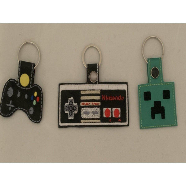 Gamer Leather Keyring - NotInTheMalls