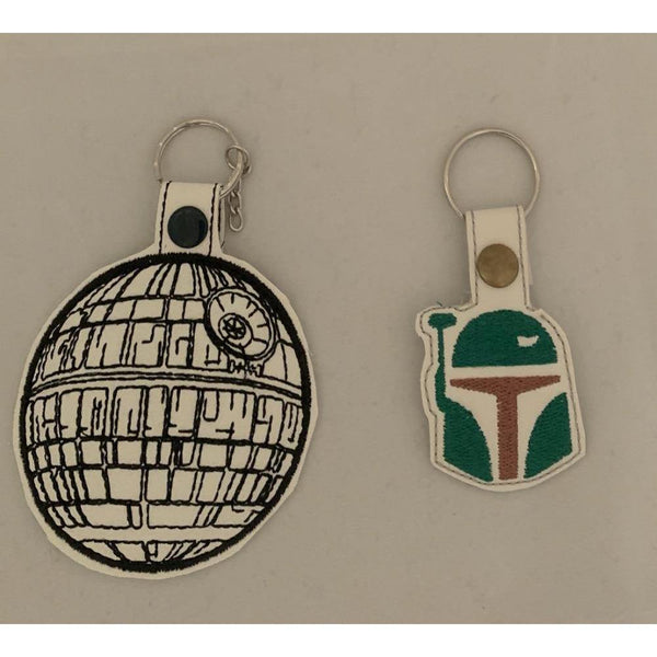 Star Wars Leather Keyring - NotInTheMalls