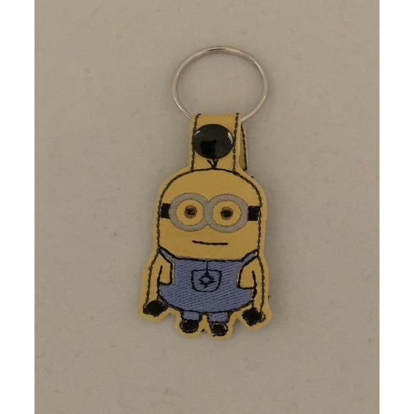 Minions Leather Keyring - NotInTheMalls