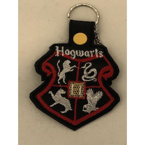 Harry Potter Leather Keyring - NotInTheMalls