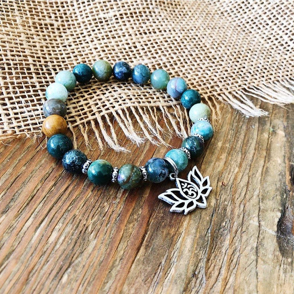 Indian Agate Bracelet - NotInTheMalls