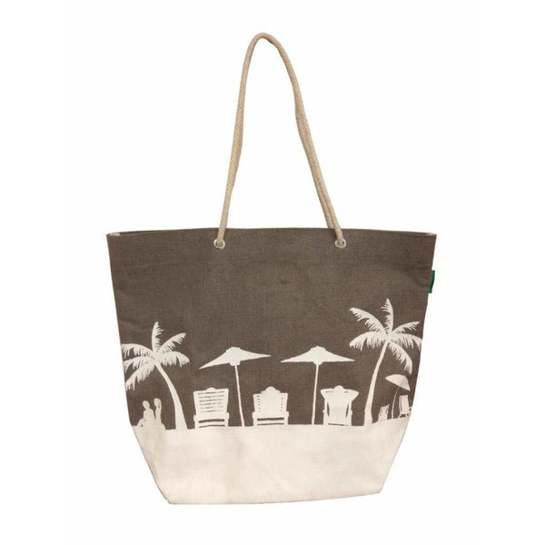 Jute beach bag - NotInTheMalls