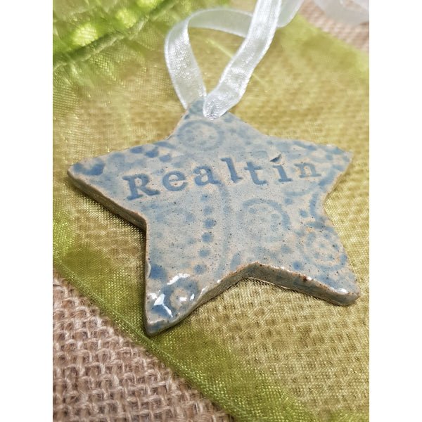 Star - Large Ceramic Decoration - NotInTheMalls